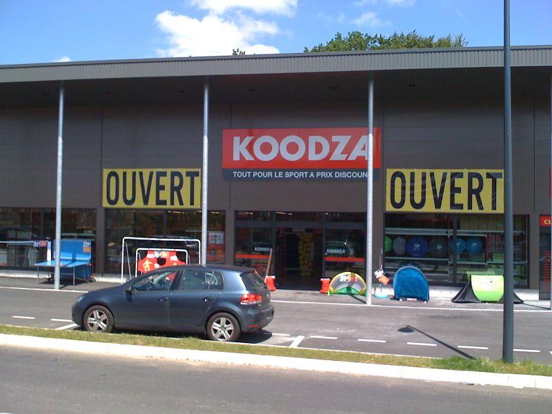 Ouverture de notre 9ème magasin de sport KOODZA à Concarneau
